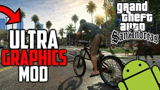 High Graphics ENB MOD On GTA San Andreas Android | GTA 5 Graphics Mod On GTA San Andreas Android