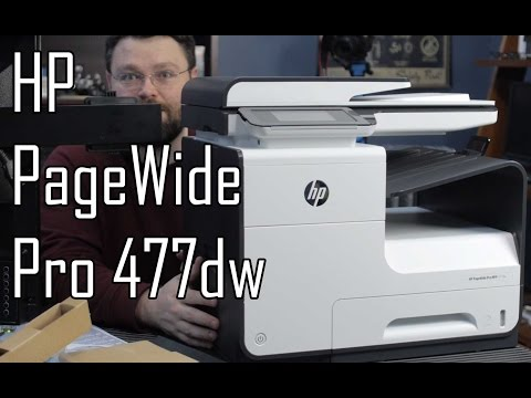 HP Pagewide Pro 477 Printer
