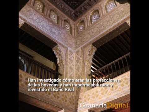 Baños Arabes Real De La Alhambra | Asi Lucen Las Cubiertas Del Bano Real De La Alhambra Tras Su
