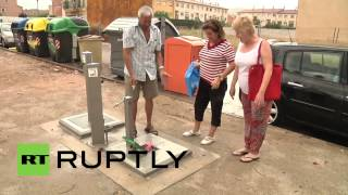 Spain: Town Goes Potty For Dog Public Toilet