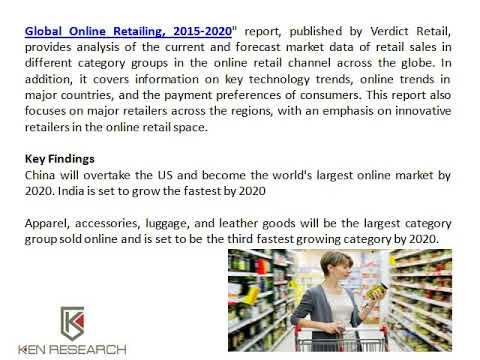Africa Online Retailing Market Size, Global Online Retailing Market Trends - Ken Research