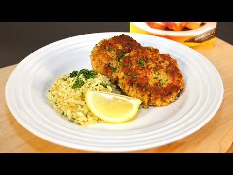 Salmon Cakes Gluten-Free Recipe Cooking with Schar feat. Sarah Green