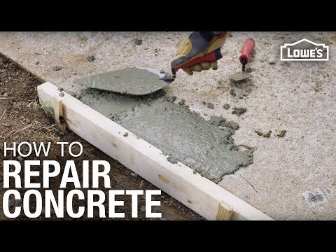 How To Repair Concrete | Pro Tips For Repairing Concrete