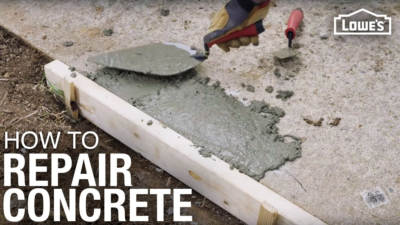 How To Repair Concrete Pro Tips For Repairing You