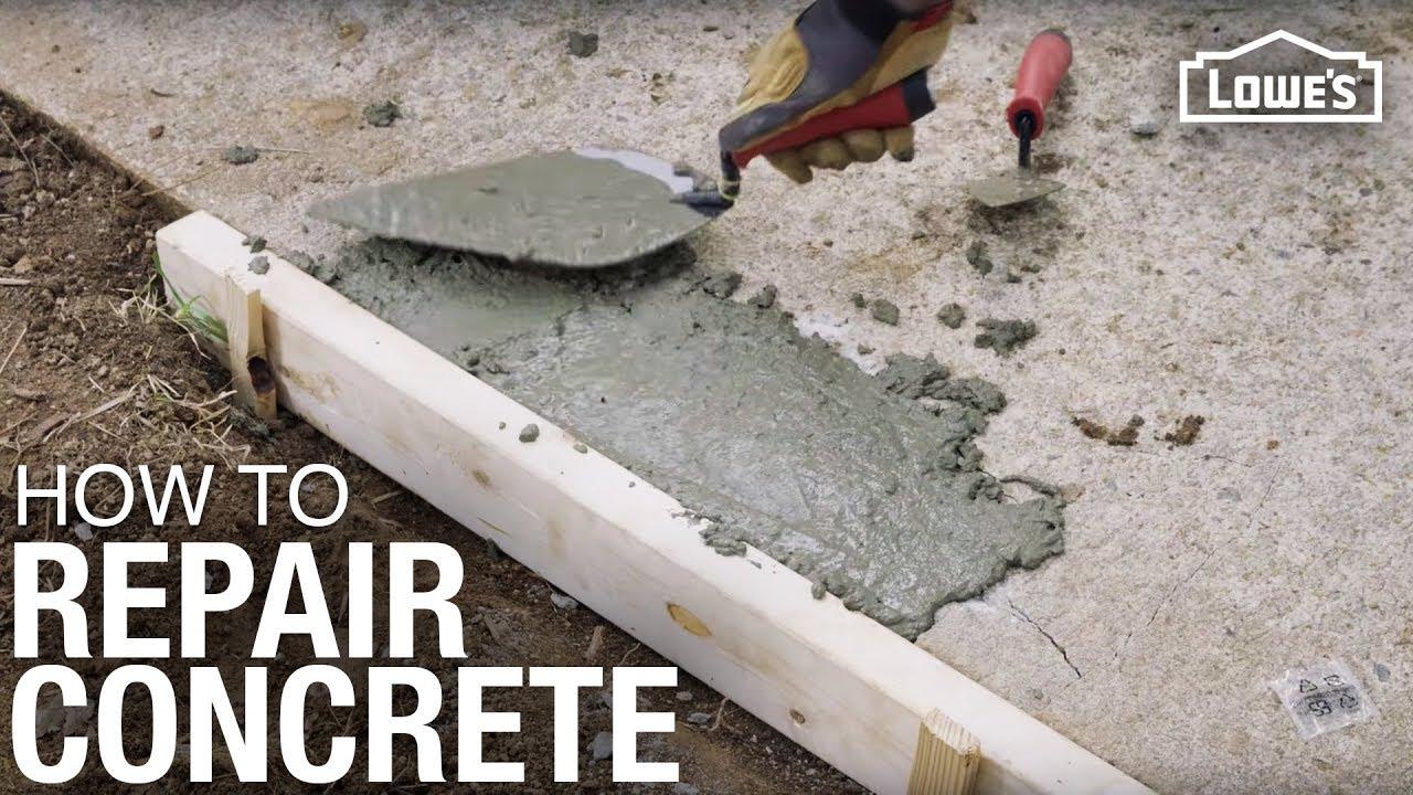 How To Repair Concrete  Pro Tips For Repairing Concrete