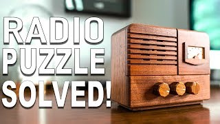 Solving the ANTIQUE RADIO Puzzle!!