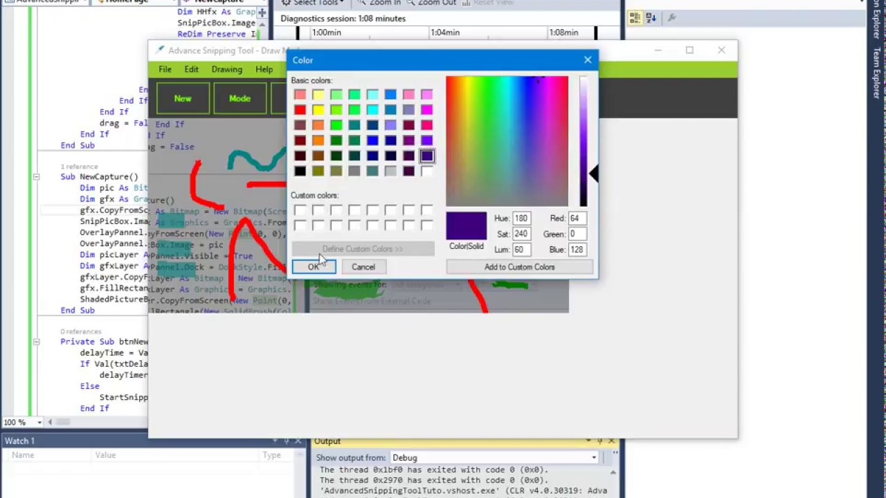 advanced snipping tool