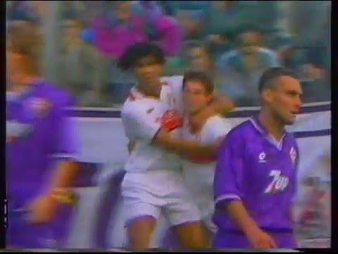 Daniele Massaro goals (Fiorentina, Milan)