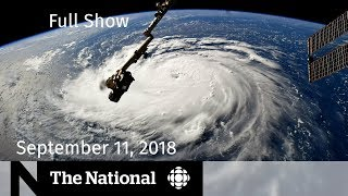 The National for Sept. 11, 2018 — CBC in Colombia, Hurricane Florence, Humboldt Broncos