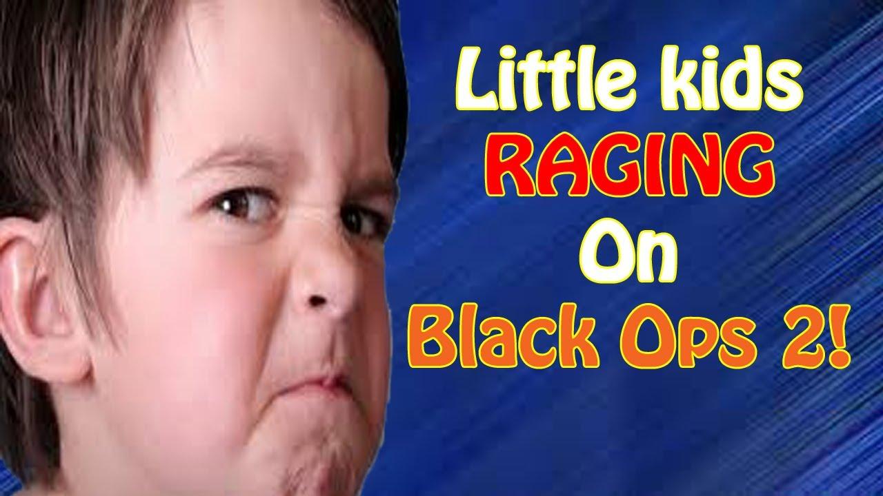 Kid Raging At Black Ops