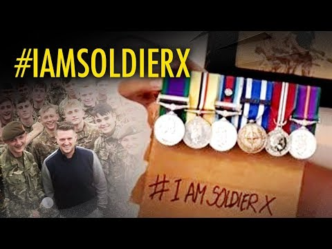 Tommy Robinson: #iamsoldierX Defend British soldiers from a political witch hunt