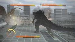 GODZILLA PS4 : Godzilla 2014 vs King Ghidorah vs Godzilla
