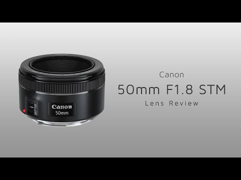 Canon EF 50mm F1 8 STM Review