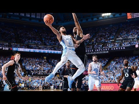 UNC Men's Basketball: Tar Heels Fall to 'Canes at the Buzzer on Senior Night