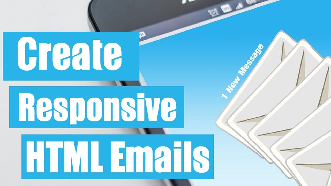 How To Create A Responsive Html Email Template Youtube