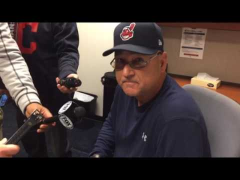 Indians manager Terry Francona on Danny Salazar