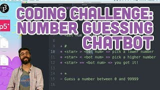 Coding Challenge #79: Number Guessing Chatbot