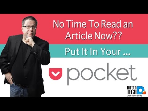 Pocket - App Review for Web Clipping Fun