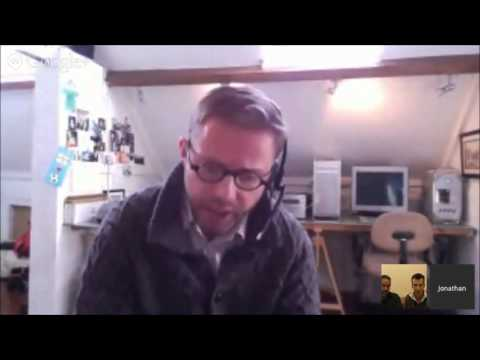Jonathan Worth and Alan Levine NOT talking about MOOCs with Martin Hawksey