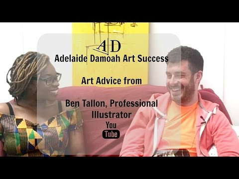 Art Discussion: Adelaide Damoah in Conversation with Ben Tallon