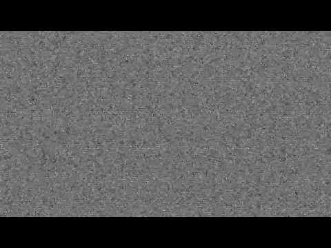 Футаж помехи на телевизоре, шипение телевизора,переход в видео