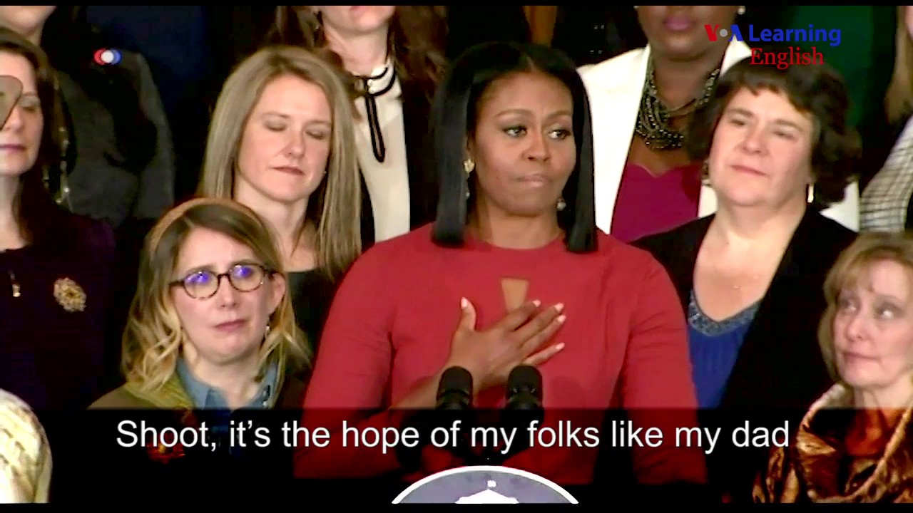 Michelle Obama: Last Official Speech as First Lady