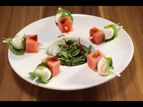 Watermelon and Fresh Mozzarella Salad | Sanjeev Kapoor Khazana