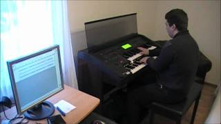 "Marco Cerbella plays ""Get Out Of Your Lazy Bed"", Matt Bianco (EL90, Electone)"