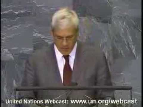 Serbia President. 63th General Assembly. 1-2. Sept. 2008