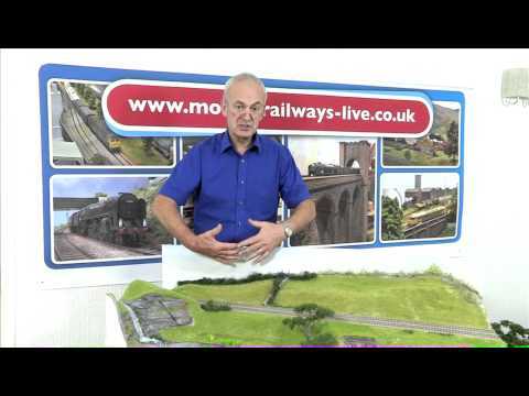Modelling Railway Train Scenery -Tony Hill Top Tips – Creating Backscenes for Model Railways
