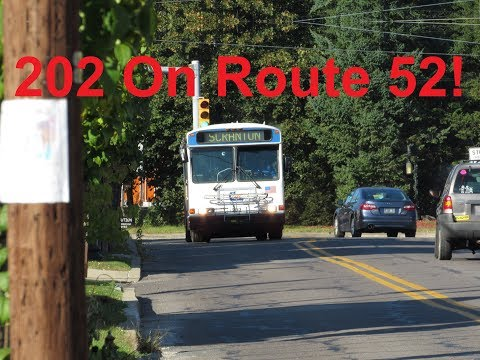 NeoplanDude COLTS 2000 Gillig Phantom #202 On Route 52, To Carbondale!