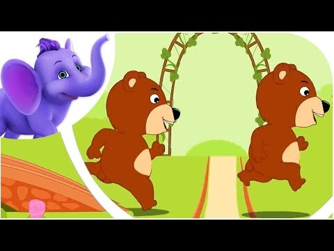 Round and Round The Garden - Nursery Rhyme with Karaoke