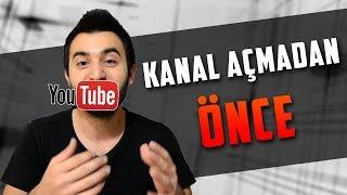 1- Youtube Kanal Açmadan Önce Yapmanız Gerekenler - İlk Adım