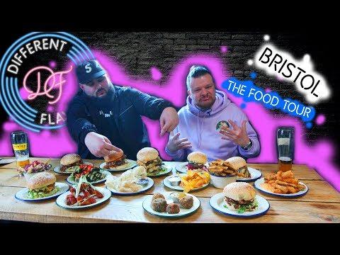 Different Flavaz : Food Tour : Bristol : Ep2
