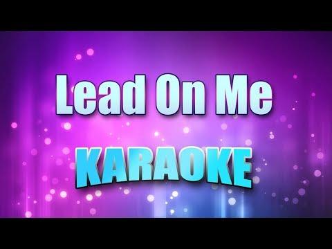 Nightingale, Maxine - Lead On Me (Karaoke version with Lyrics)