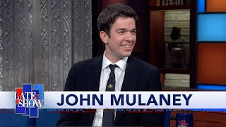 John Mulaney And Stephen Colbert Explore Each Other