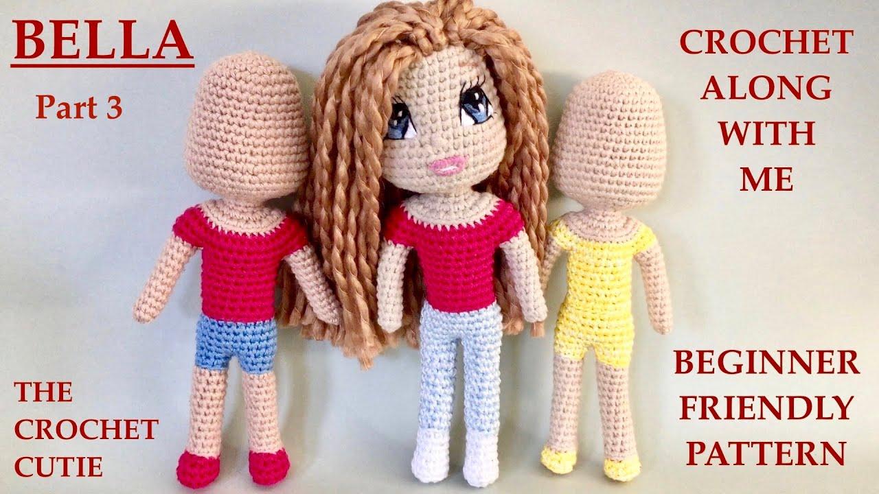 15+ Free Crocheted Doll Patterns • Free Crochet Tutorials | 720x1280