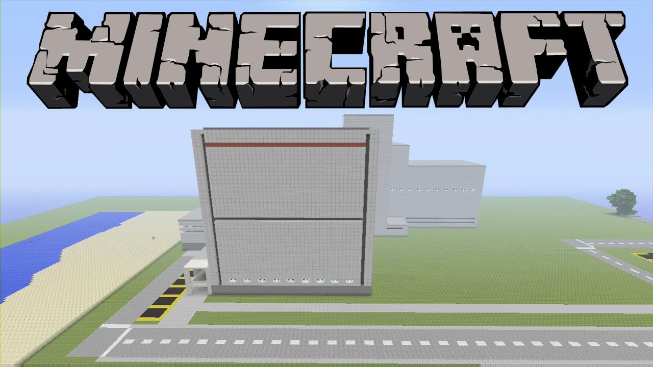 Minecraft Power Plant Xbox 360 Edition Showcase Youtube Nuclear Schematic
