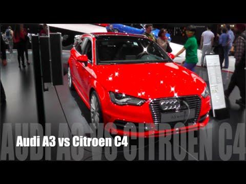 Audi A3 2015 vs Citroen C4 2015