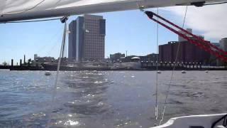 Running Boston Harbor Wing On Wing