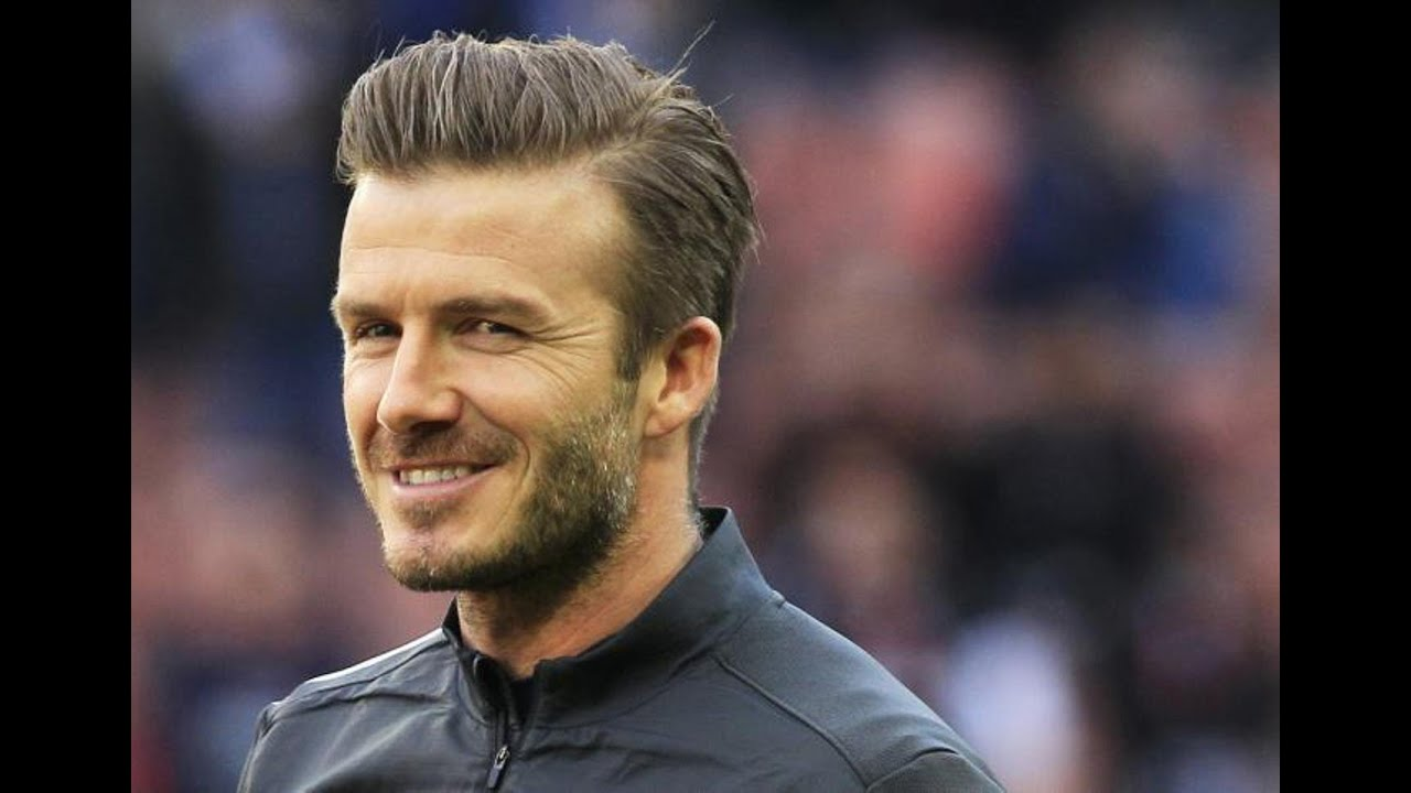 Mens Hair Cut Style: How To Style David Beckham