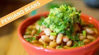 How I Make Delicious Peruano Beans (aka Canary Beans, Peruvian Beans, Mayocoba Beans)