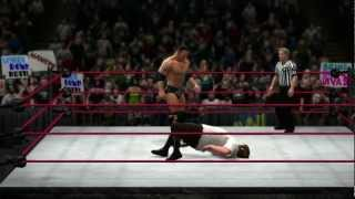 """Attitude Era"" Rock hits his finisher in WWE"