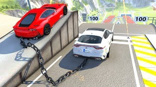 High Speed Jumpscrashes Compilation 53 - Beamng Drive Satisfying Car Crashes