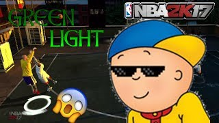 CAILLOU PLAYING 2K- BEST JUMPSHOT IN THE GAME- NBA2K17 XBOX 360 /PS3 ONLINE BLACKTOP