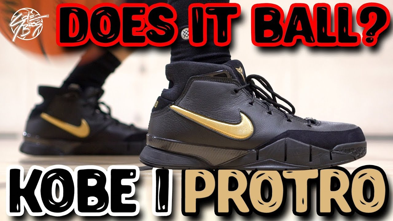 4f577fc625407 Does It Basketball  Nike Zoom Kobe 1 Protro