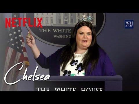 Sarah Huckabee Sanders Birthday Celebration | Chelsea | Netflix