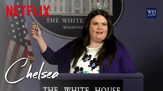 Sarah Huckabee Sanders Birthday Celebration | Chelsea | Netflix