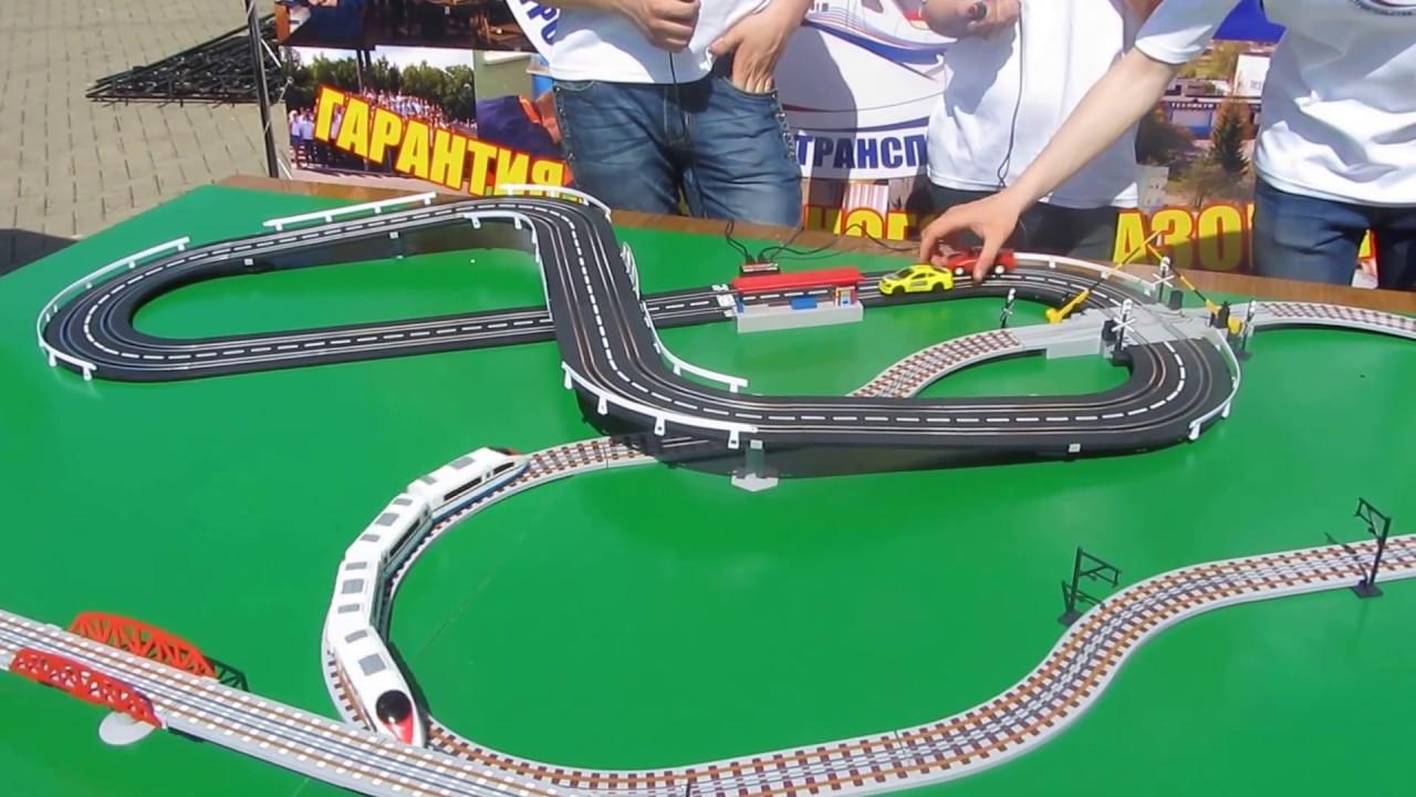 Железная дорога игрушка своими руками
