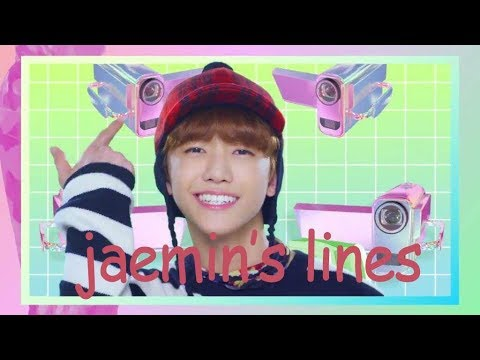 """every"" nct dream mv but it's only jaemin's lines"